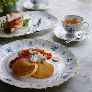 NARUMI 鸣海 Fiorista 蓝色花瓣骨瓷红茶杯咖啡杯套装 亚马逊海外购