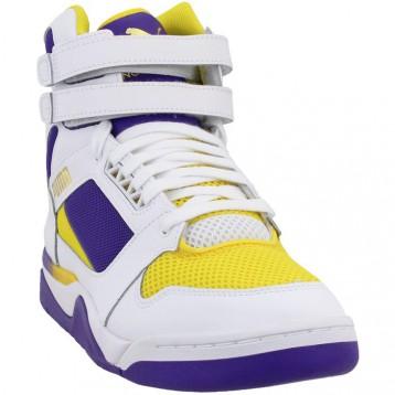 Puma 彪马 Palace Guard 黄紫色运动鞋 特价$54.95(¥413.77)