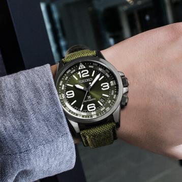 1499元包邮!SEIKO 精工 PROSPEX系列 SRPC33J1 男士机械手表