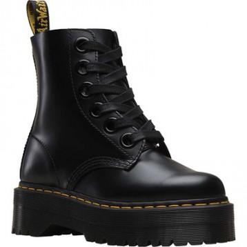 DrMarten's Molly 女子6孔厚底马丁靴 $162.95(¥1236.79)