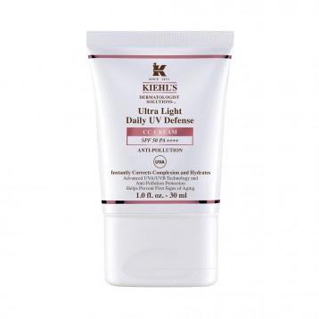Kiehl's Ultra Light' Daily UV Defense SPF 50 CC 保湿霜 30ml 特价£25.2(¥235.87)
