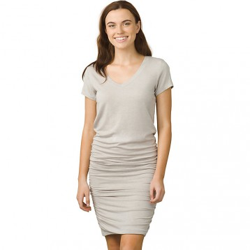 61折$47.99美金!Prana Women's Foundation Dress 连衣裙