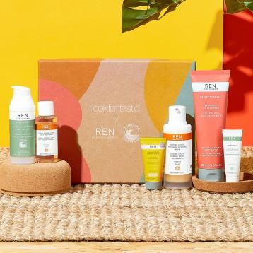 390元包直邮!有机环保美妆:Lookfantastic x REN Clean Skincare联名礼盒(价值超1000元)