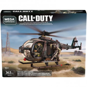 229.05元美国直邮!Mega Construx Call of Duty Special Ops Copter (10+)