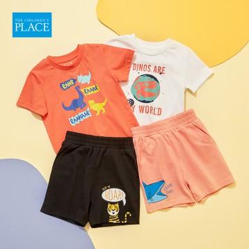 29元包邮!北美童装TOP品牌The Children's Place 绮童堡 2020新款纯棉短裤 4色(90-120cm)
