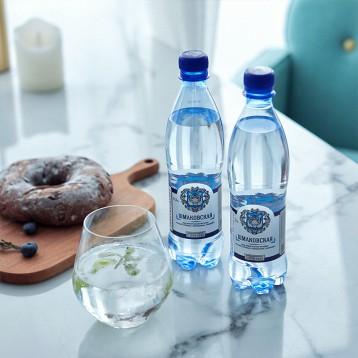 12.90元包邮!SHMAKOVSKAYA 俄罗斯原瓶进口 天然气泡水500ml*6瓶