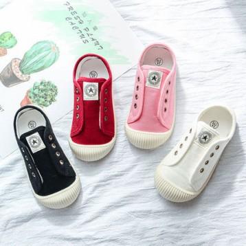 植入量子能量芯片,匡威旗下 CESHOESES 男女童春夏款帆布鞋(16~35码)多色