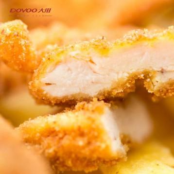 大用食品 半成品冷冻 咔滋脆鸡排 1000g