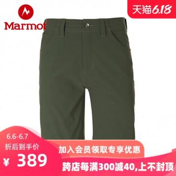 299元包邮!Marmot 土拨鼠 S43610 男士户外工装速干短裤