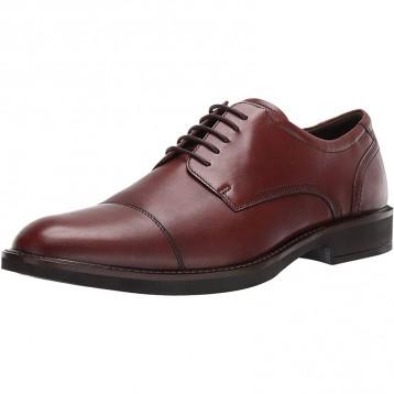 新低497.36元美国直邮!ECCO 爱步 Biarritz里兹 男士真皮牛津鞋(US7-7.5码)