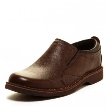Clarks 其乐 Doby Plain Toe 一脚蹬真皮休闲鞋新低283.95元
