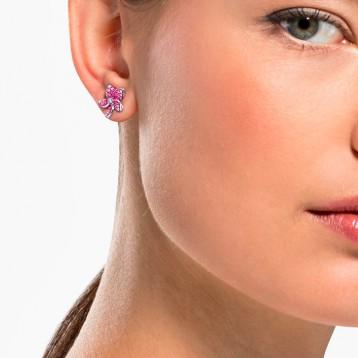 Swarovski 施华洛世奇 TROPICAL 女士花朵造型耳钉 亚马逊海外购