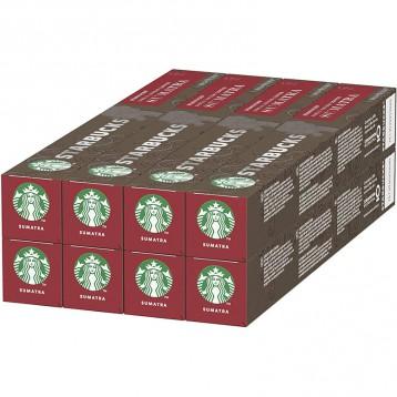 263.87元德国直邮!STARBUCKS 星巴克 深度烘焙 曼特宁咖啡 胶囊咖啡10颗*8盒
