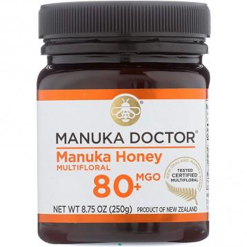 162元美国直邮!Manuka Doctor 养胃生物活性蜂蜜 麦卢卡蜂蜜80+ (250克)