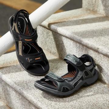 369.25元德国直邮!Ecco 爱步 男式夏季透气皮凉鞋Yucatan-M  沙滩凉鞋越野凉鞋