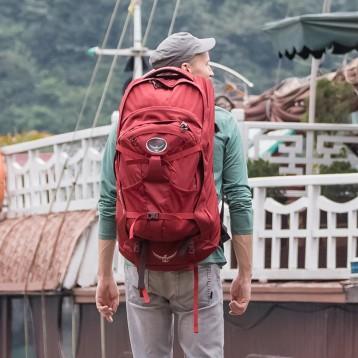 Osprey FARPOINT 遠行 戶外大容量旅行包 40L 亞馬遜海外購
