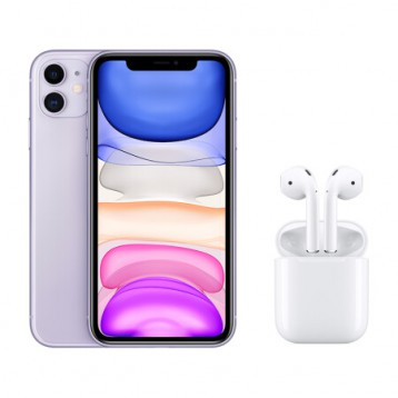 5688元!苹果 Apple iPhone 11 64G+AirPods二代