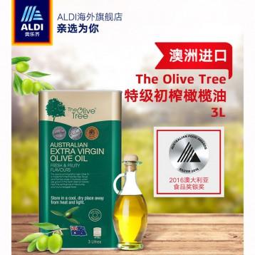 80.30元【临期】墨尔本皇家美食奖得主:澳洲 The Olive Tree 特级初榨橄榄油3L