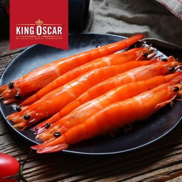 222.60元拍2件!泰国进口 KINGOSCAR 熟冻拉直凡纳甜对虾 750g