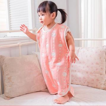 Hoppetta 10mois 6层纱布儿童睡衣睡袋  亚马逊海外购
