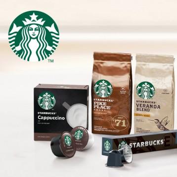 【星巴克咖啡】派克市场的咖啡,在家也就能喝到(多款胶囊、咖啡豆)
