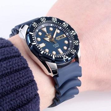 1092.55元德国直邮!SEIKO精工 蓝鬼潜水自动机械腕表 SRP605K2