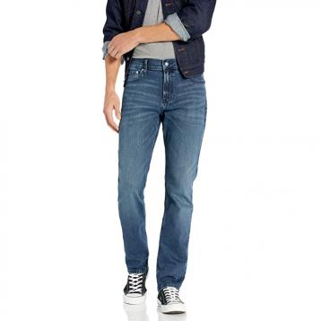 多码,Calvin Klein 卡尔文·克莱恩 41J3745 男士直筒牛仔裤
