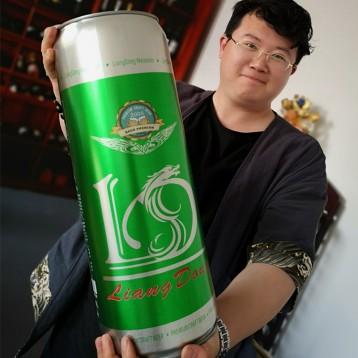 148元包邮! 霸气【青岛特产】亮动 精酿原浆全麦啤酒20斤