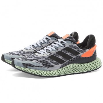 史低好价!阿迪达斯Adidas 4D 超现代版 减震跑鞋 $135