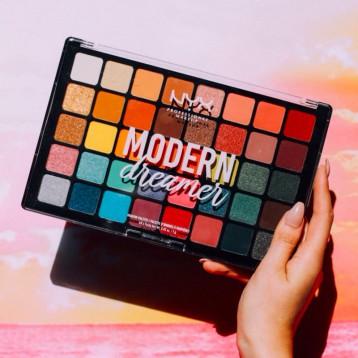 NYX Modern Dreamer 摩登梦想家40色眼影盘 亚马逊海外购