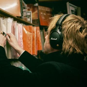 MARSHALL 马歇尔 monitor   头戴式摇滚重低音无线蓝牙耳机 亚马逊海外购