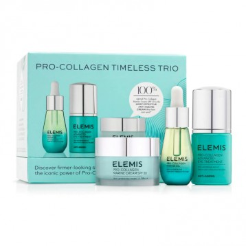 Elemis 艾麗美 Pro-Collagen Timeless 抗衰老緊致活護理套裝三件套  亞馬遜海外購