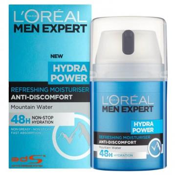 新低29.48元英国直邮!L'Oréal 男士专家 Hydra Power 清爽保湿霜, 50 毫升
