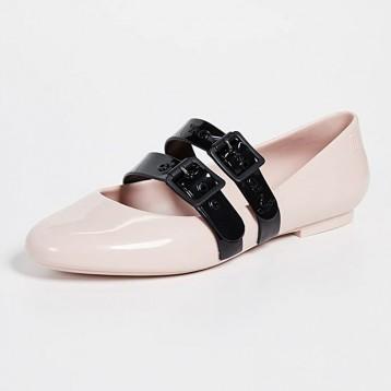 347.86英国直邮!Melissa x Vivienne Westwood 娃娃平底鞋果冻鞋