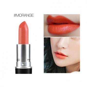 €14欧元包税!MAC 魅可 子弹头唇膏/口红 3g/支 #Morange奶油亮橘