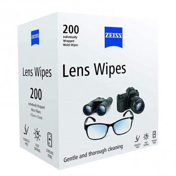 61元英国直邮!Zeiss 蔡司 镜头镜片清洁湿巾 200张