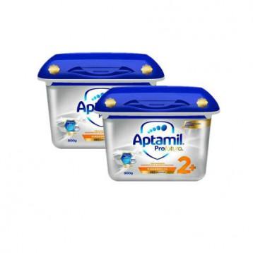 €55欧元用码包邮包税!Aptamil 爱他美白金版 婴儿奶粉2+段 800gx2盒(2岁以上)