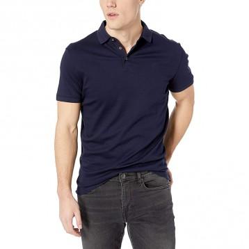214.55 元美国直邮!Calvin Klein 男士棉质防晒POLO衫(L码/Navy)