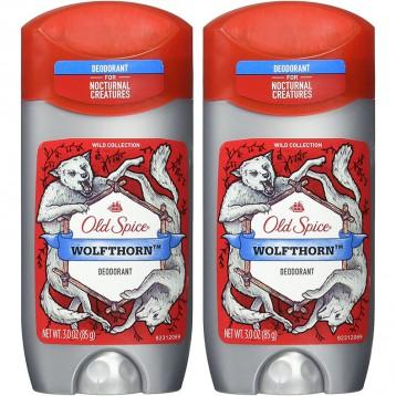 122.68元美国直邮!Old Spice 狂野系列 Wolfthorn男士香体膏85g*2支