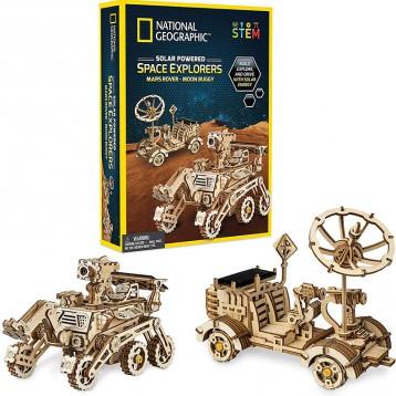 285.23元美国直邮!National Geographic 国家地理 太阳能空间探索者-DIY模型套装