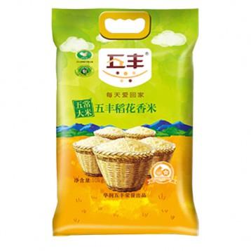 华润 五丰 五常稻花香米 10kg91.41元包邮(需领券)