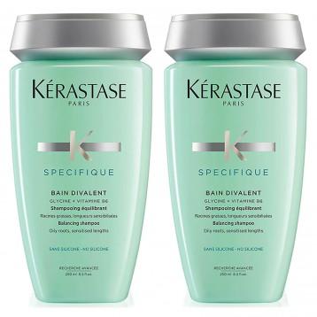 码后£33.45英镑!Kérastase 卡诗 双重功能洗发水250ml*2瓶套装