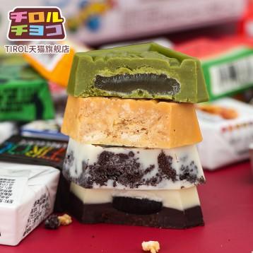 9.99元包邮!日本进口网红零食 Triol 松尾巧克力6粒装(单粒10g左右)