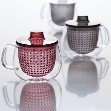 128.18元日本直郵!Kinto Unimug 玻璃馬克杯 帶茶濾 350ml