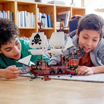 719.10元包邮【2020年新品】LEGO 乐高 创意百变系列 31109 海盗船(9岁+)