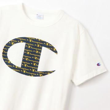 码后133元起日本直邮【2020年新款】Champion 冠军 C3-R333 大C短袖T恤