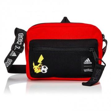 Adidas 阿迪达斯 口袋妖怪皮卡丘Pokemon Organizer单肩斜挎包 亚马逊海外购