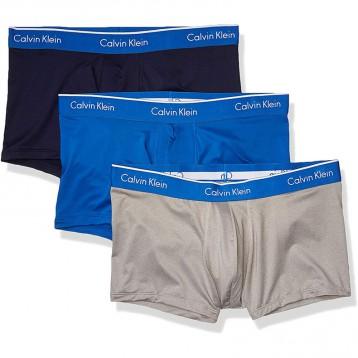 149.86美國直郵!Calvin Klein 男士超細纖維彈力多用組合低腰褲3條