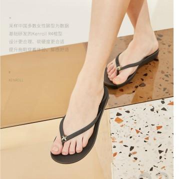 防滑专利,Kenroll 科柔 女士夏季ins时尚居家外穿人字拖沙滩鞋 4色
