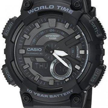 【包郵包稅】必入好價!Casio卡西歐AEQ-110 W-1BVCF男子運動手表